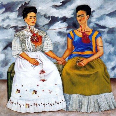 Frida Kahlo les deux Frida