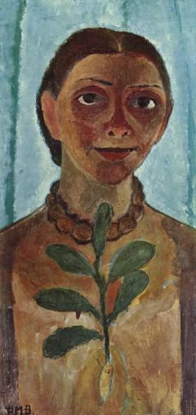 Paula Modersohn-Becker autoportrait