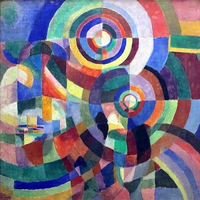 Sonia Delaunay, prismes électriques