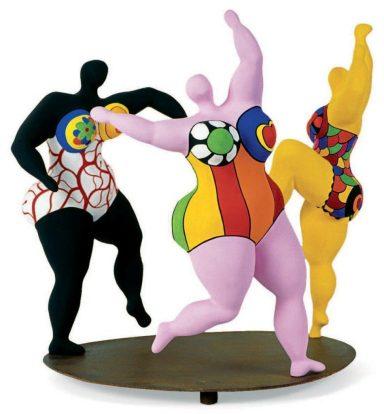 Niki de Saint Phalle les trois graces