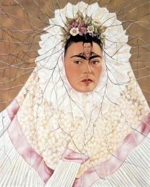 Frida Kahlo Diego en mis pensamientos