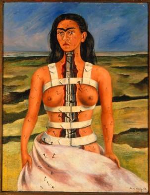 Frida Kahlo la colonne brisée