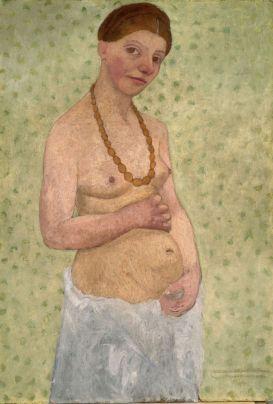 Paula Modersohn-Becker Autoportrait au 6ème anniversaire de mariage